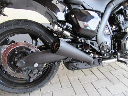 112Y Mufflers Trumpet, Black, Vmax 1700   Vmax Bike