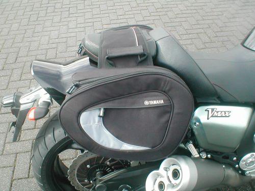 274H Luggage bags, Original Yamaha   Vmax Bike